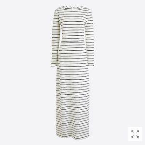 J.Crew Factory Long-sleeve Maxi Dress